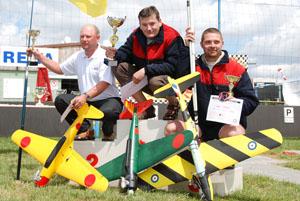 stupně vítězů EASG 2009
